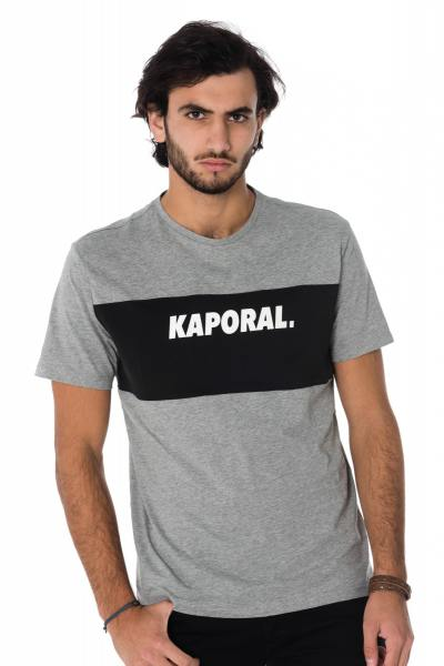 Tee Shirt Homme Kaporal SYRUS MEDIUM GREY CHINE