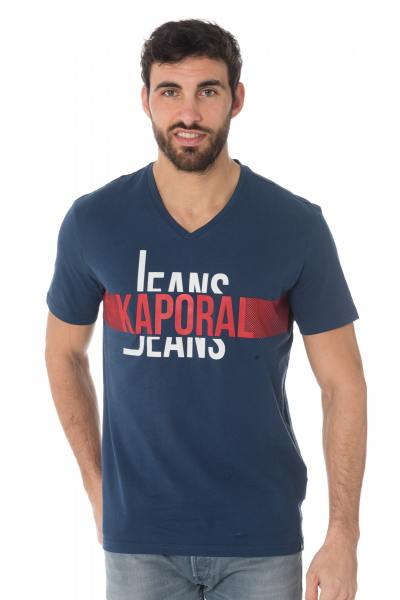 Tee Shirt Homme Kaporal DELMO BLUE US