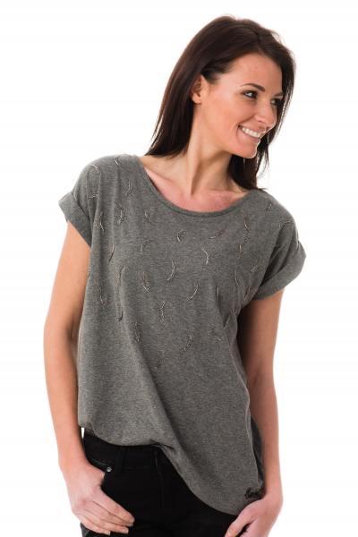 Tee Shirt Femme Kaporal FAKIR GREY MELANGED P17
