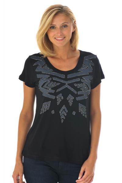 Tee Shirt Femme Kaporal TAJA BLACK H16