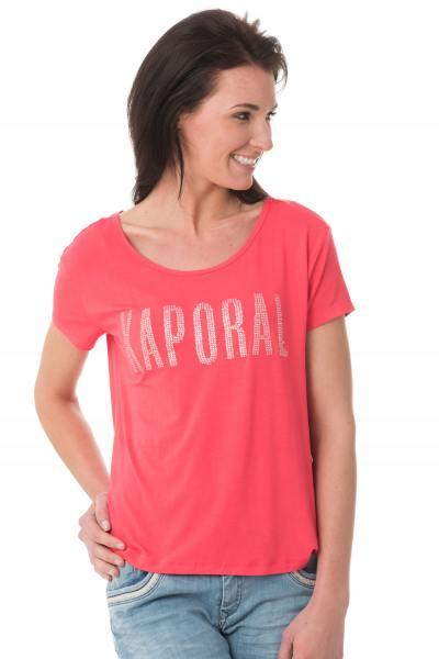 Tee Shirt Femme Kaporal NIZA GERANIUM
