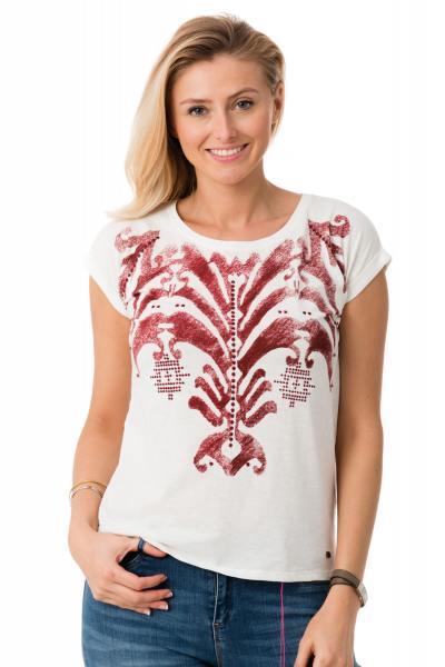 Tee Shirt Femme Kaporal FERGY OFF WHITE