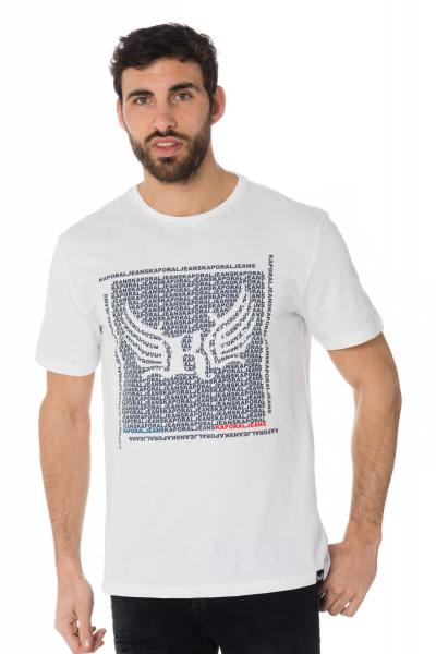 Tee Shirt Homme Kaporal PASTO WHITE