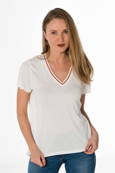 Tee shirt fluide décolleté femme              title=