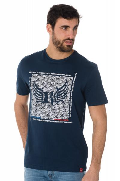 Tee Shirt Homme Kaporal PASTO BLUE US