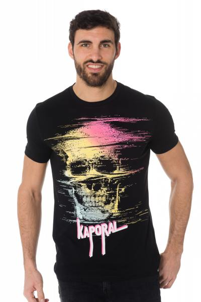 Tee Shirt Homme Kaporal NOPIA BLACK