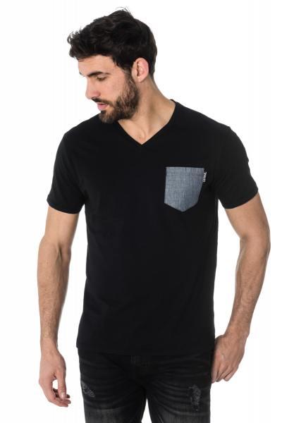 Tee Shirt Homme Kaporal GIVAR BLACK