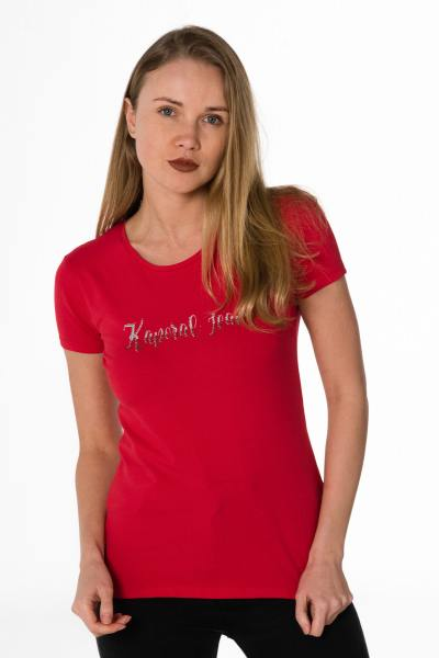 Tee Shirt Femme Kaporal BUSY CHERRY