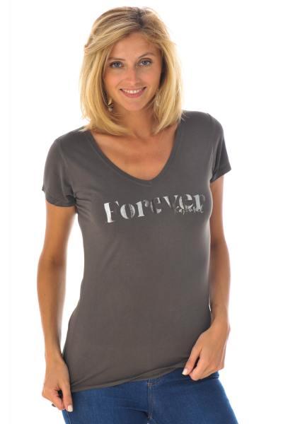 Tee Shirt Femme Kaporal COX ASPHALT H16