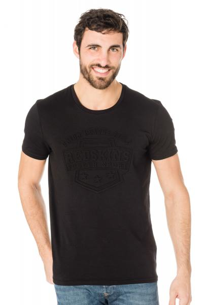 Tee Shirt Homme Redskins NORTH CALDER BLACK