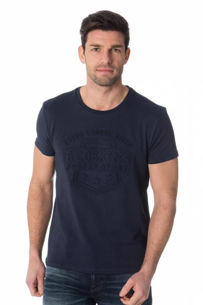 Tee Shirt Homme Redskins NORTH CALDER DARK NAVY