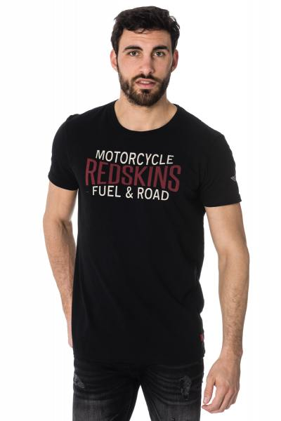 Tee Shirt Homme Redskins FUEL LAHORE BLACK
