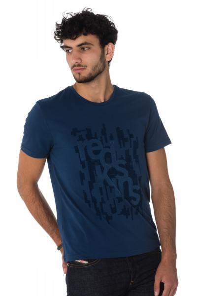 Tee Shirt Homme Redskins PILDER CALDER NAVY H18