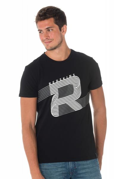 Tee Shirt Homme Redskins BINAR CALDER BLACK H18