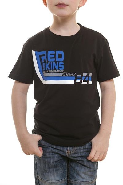 Tee Shirt Enfant Redskins Junior ZENITH CALDER NOIR