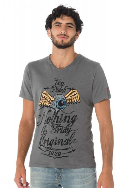 Tee Shirt Homme Von Dutch T-SHIRT EYES DGR