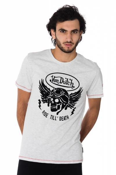 Tee Shirt Homme Von Dutch T SHIRT DEATH GRC