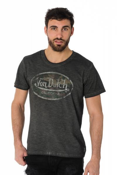 Tee-shirt homme Von Dutch avec logo camouflage              title=