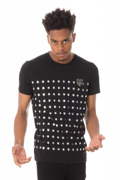 Tee Shirt Homme horspist REMI BOOSTER BLACK/SILVER