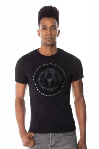 Tee Shirt Homme horspist RAOUL BOOSTER BLACK