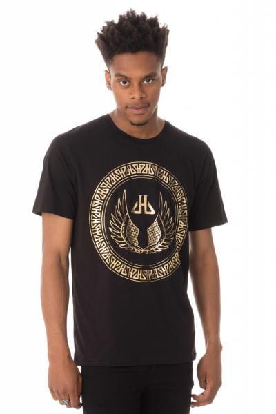 T-Shirt mit aufgedrucktem HORSPIST_-Logo