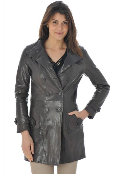 Veste Femme Daytona MORGANE SHEEP AOSTA REDDISH BROWN ZZ