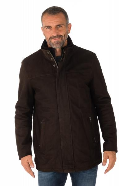 Veste Homme Daytona BALZAC COW MADISON BROWN