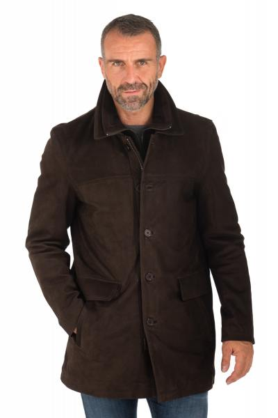 Veste Homme Daytona CAYENNE IC COW MADISSON BROWN