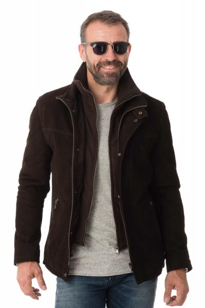 Veste Homme Daytona DARWIN IC COW MADISON BROWN