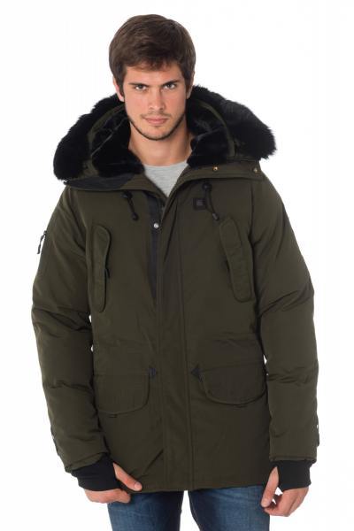 Veste Homme Helvetica EXPEDITION MEN EWARM DARK EDITION KAKI