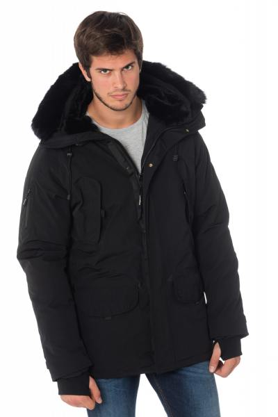 Veste Homme Helvetica EXPEDITION MEN DARK EDITION BLACK