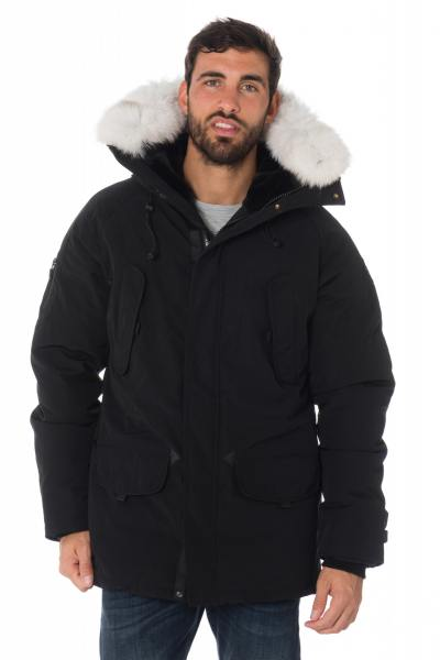 Veste Homme Helvetica EXPEDITION MEN PURE EDITION BLACK