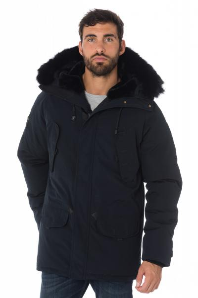 Veste Homme Helvetica EXPEDITION MEN DARK EDITION NAVY