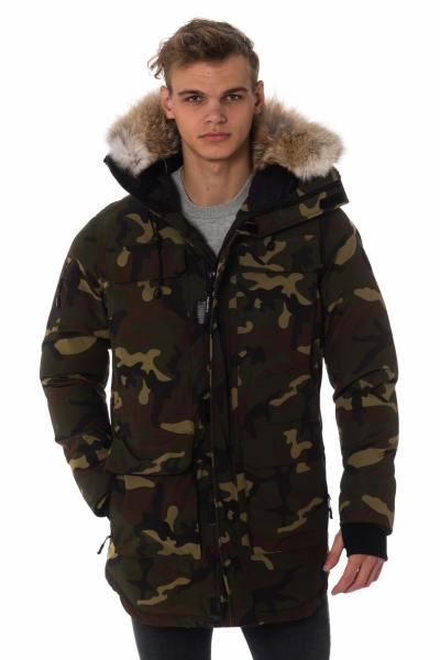 Veste Homme Helvetica XTREM COYOTE EDITION CAMO GREEN