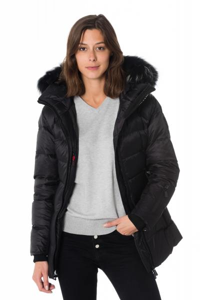 Veste Femme Helvetica ANDES LONGUE WOMEN DARK EDITION BLACK 2K20
