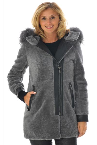Veste Femme Intuition CALYPSO ANTHRACITE