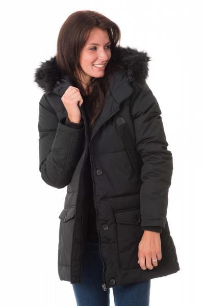 Veste Femme Schott JKTCAMILLE2W BLACK/BLACK