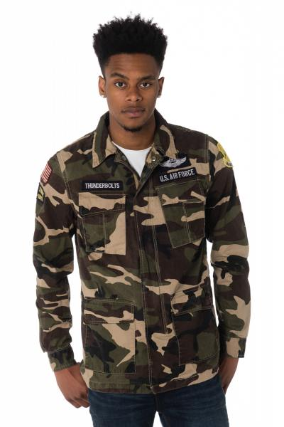 Veste Homme Schott WILLIAMS CAMO KAKI