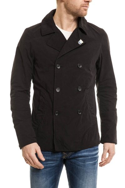 Caban Homme Scotch and Soda polyester Noir              title=