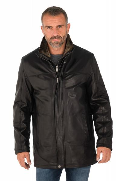 Veste Homme Trapper CARL BLACK