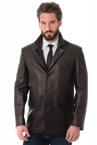 veste en cuir homme pas cher vest cuir homme achat veste cuire. Black Bedroom Furniture Sets. Home Design Ideas