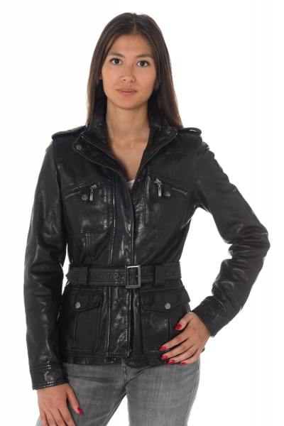 Veste Femme rose garden LETY SHEEP AOSTA BLACK