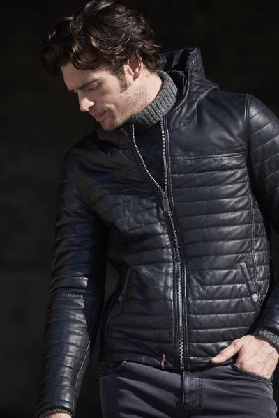 Doudoune homme fine et chaude coloris noir