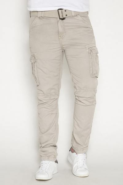 Pantalon Army couleur ciment              title=