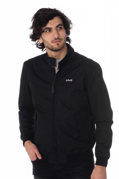 schwarze Herren Nylon-Jacke für die Zwischensaison