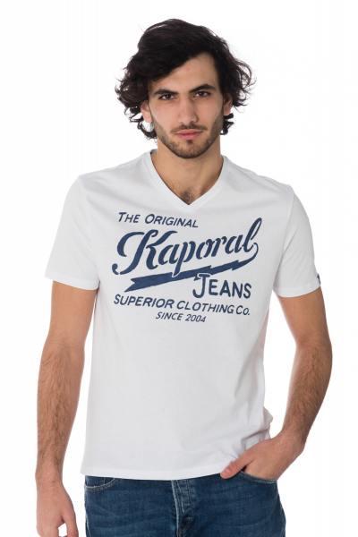 Tee Shirt Homme Kaporal BRUCE WHITE