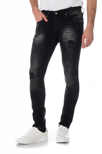Jean Homme Redskins STEED GRAPH BLACK POINT