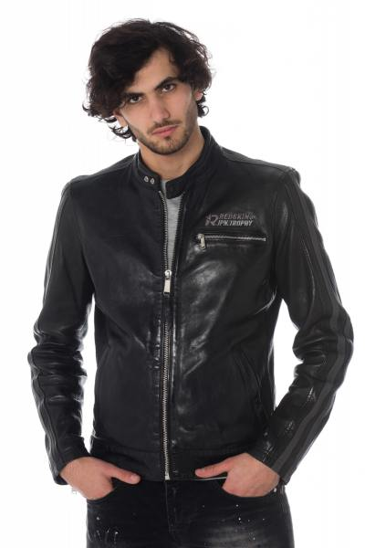 Blouson Homme Redskins CARDIFF EARLEY BLACK GREY