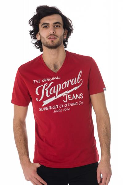 Tee Shirt Homme Kaporal BRUCE NEO RED
