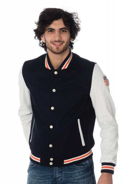 Blouson Homme Redskins WELLES GATES NAVY WHITE